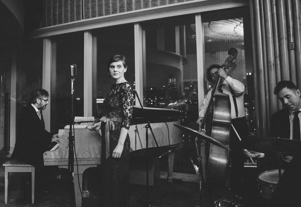 Sarah King and the Smoke Rings - NYC's Best Wedding Music and Event Jazz and Swing Band - The Standard Hotel