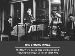 Sarah King and the Smoke Rings - NYC's Best Wedding Music and Event Band