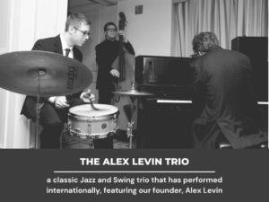 """""""Cheek to Cheek"""" - The Alex Levin Trio"""