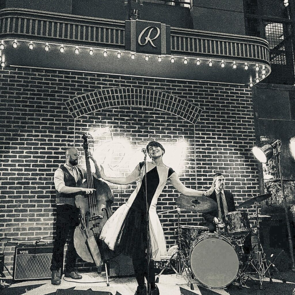 Sarah King and the Smoke Rings - NYC's Best Wedding Music and Event Jazz and Swing Band - The Roxy Hotel