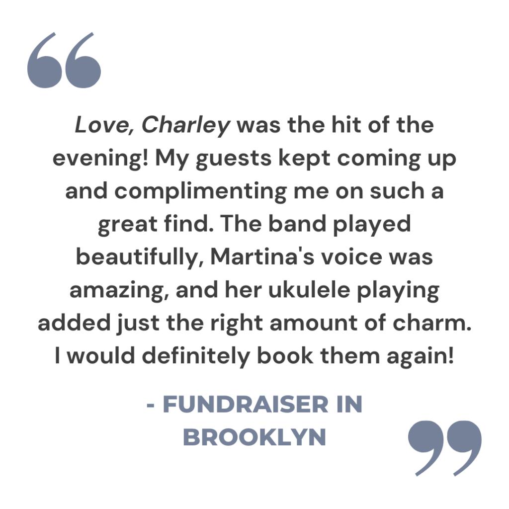 love-charley-alex-levin-music-fundraiser-brooklyn-nyc-vintage-jazz-band-postmodern-jukebox-martina-da-silva-review